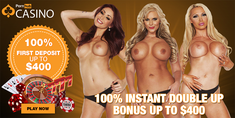 instant-100-1st-deposit-bonus-of-up-to-400-on-casino-games-when-you-join-pornhubcasino