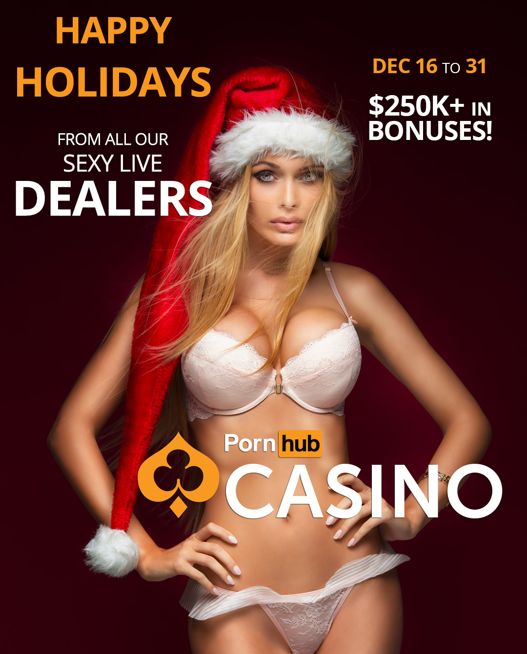 pornhubcasino-happy-holidays-promo-from-all-our-sexy-live-dealers-250k-in-bonus