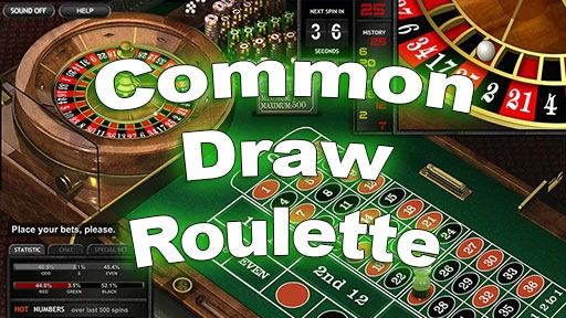 Casino Table Games Common Draw Roulette