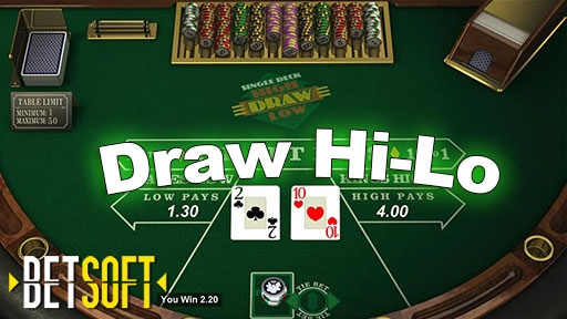 Play online Casino Draw Hi-Lo