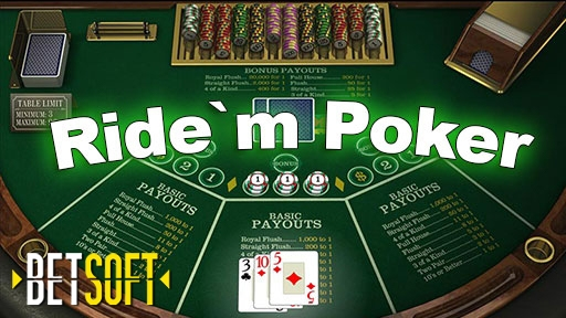 Play online Casino Ride`m Poker