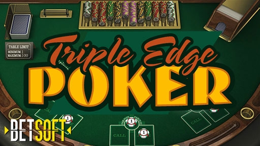 Play online Casino Triple Edge Poker