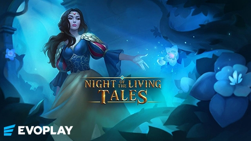 Night of the Living Tales from Evoplay Entertainment