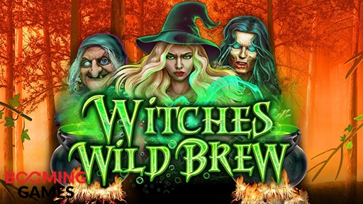 Casino 3D Slots Witches Wild Brew