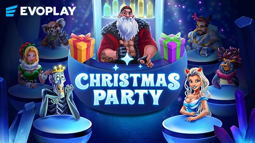 Play online casino 3D Slots Christmas Party