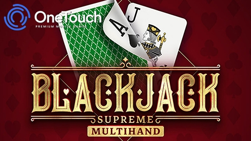 Blackjack supreme multi from OneTouch