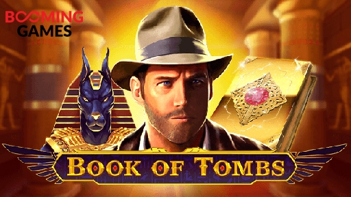 Book of Tombs from Booming Games