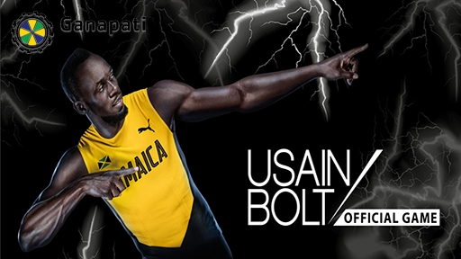 Play online casino 3D Slots Usain Bolt