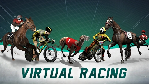 Play online Casino Virtual racing