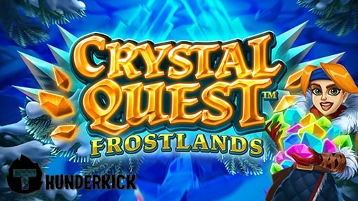 Play online casino 3D Slots Crystal Quest Frostlands