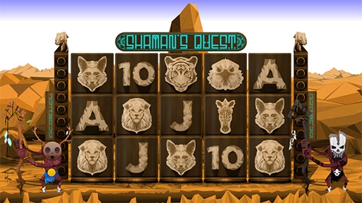 Play online casino Shamans Quest
