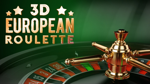 Play online casino 3D European Roulette