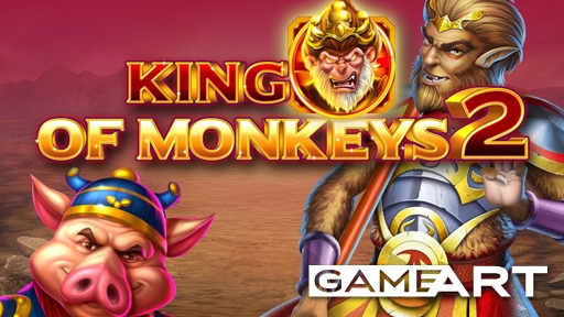 Play online Casino King of Monkeys 2