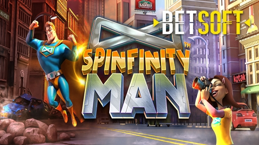Casino 3D Slots Spinfinity Man