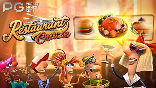 Play online casino 3D Slots Restaurant Craze