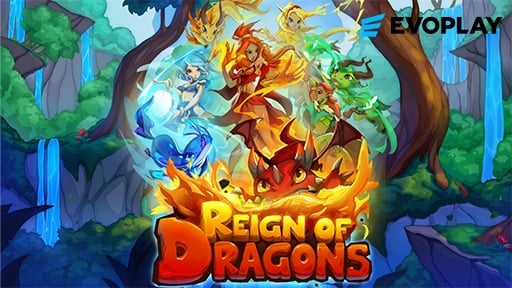 Play online casino 3D Slots Reign of Dragon
