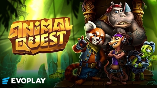Play online casino 3D Slots Animal Quest