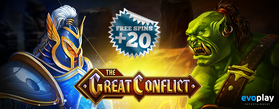 The great conflict free spins